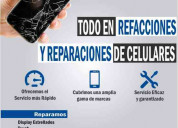Reparacion de todo tipo de celulares.