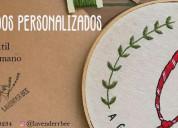 ¡tus bordados personalizados!