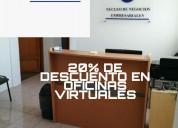 Ofrecemos oficinas virtuales en renta
