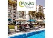 Penthouse paraiso country club 3 dormitorios