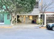 Casa en venta en col. los pinos, apodaca, ebanos