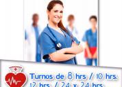 Enfermeras y cuidadoras particulares
