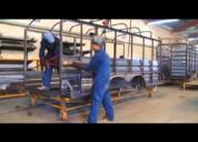 Reparación y fabricación de cajas secas remolques