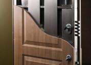 Puertas de seguridad de herrería casas