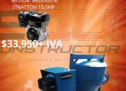 Revolvedora 2 sacos motor briggs equiconstructor