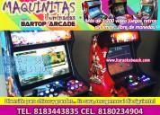 Maquinitas video juegos fiestas eventos monterrey