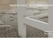 Render y modelado 3d