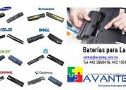 Venta de baterías y cargadores para laptop