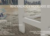 Renders y modelado3d