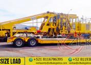 Transportes de carga general y sobredimensionado
