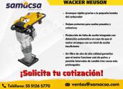 Venta de apisonadora wacker neuson bs60-4as