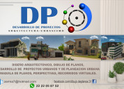 Planos y desarrollo de proyectos