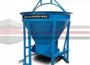 Venta bacha para concreto hypermaq bh-1000