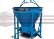 Venta bacha para concreto hypermaq bh-2000