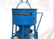 Venta bacha para concreto hypermaq bh-500