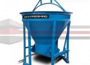 Venta bacha para concreto hypermaq bh-750