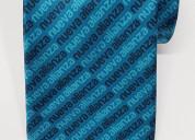 Corbata para caballero con diseño impreso