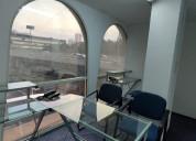Renta de oficinas amuebladas en polanco -100m2