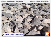 Piedra para cimiento torreón, arena torreón