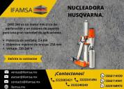 Perforadora de concreto husqvarna