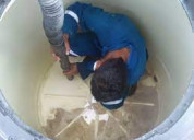 Reparación, mantenimiento; instalación de tinacos