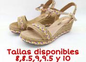 Zapatillas para dama tallas grandes