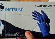 Guantes de nitrilo caja de 100