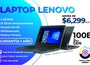 Estrena una laptop lenovo 100e