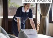 Personal doméstico entrada por salida