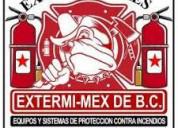 Extinguidores en tijuana equipo contra incendio bc