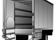 Rampas hidraulicas para camión, torton, mudanzero