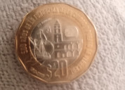 Moneda de 20 pesos veracruz