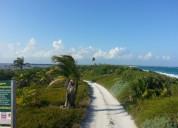 Terreno mahahual frente a la playa