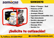 Motobomba shell  shw2070