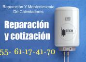 Reparación, instalación y mantenimiento de boiler.