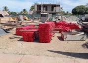 Puntales metalicos para cimbra 2.25 m a 4.05 m