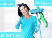 Empleadas .domésticas naucalpan 5534616001