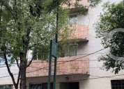 Rento bonito departamento con balcón y  con excelente ubicación. vigilancia las 24hs
