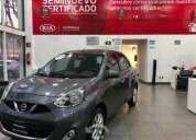 Lindo nissan march 2017 5p advance l4 1.6 aut. en excelente estado