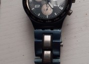 Swatch original azul metlico