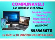 Reparacion de computadoras naucalpan  5588686711