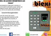 Control de acceso biomÉtrico ascca100