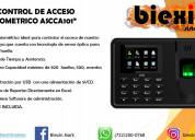 Control de acceso biomÉtrico ascca101