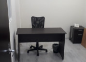 Amueblada y virtual oficina
