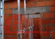 Puntales metálicos emaq, (galvanizados)