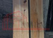 Plataforma para andamio, de madera y antiderrapant
