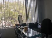 Renta de oficinas amuebladas (cerca del suburbano)